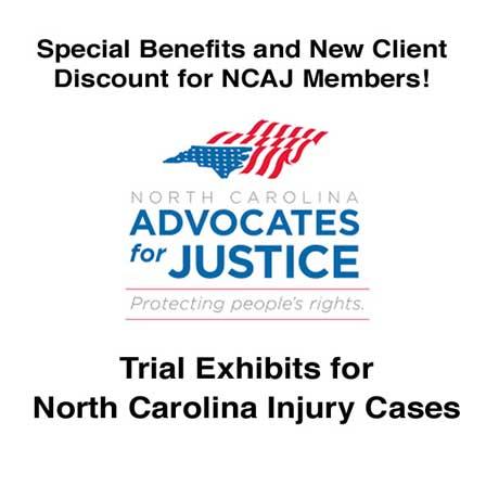 NCAJ New Client Discount on Trial Exhibits